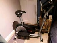 YORK XC 530 Cross Trainer And Exercise Bike In Brand New Condition Bargain £100