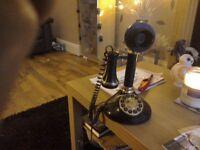 Betacom Speakeasy candlestick phone