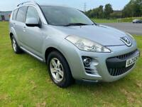 PEUGEOT 4007 JEEP 4x4 SE DIESEL🔥7 SEATER JEEP!MPV CROSSOVER *TOP SPEC!audi,bmw,ford,citreon,jeep