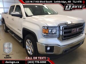 Used 2015 GMC Sierra 1500 4WD Crew Cab SLT-Heated Leather 40/20/