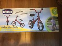 Chicco Bullet Balance Bike in Red - Brand New