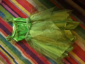 Disney Tinkerbell dress up costume age 7-8yrs