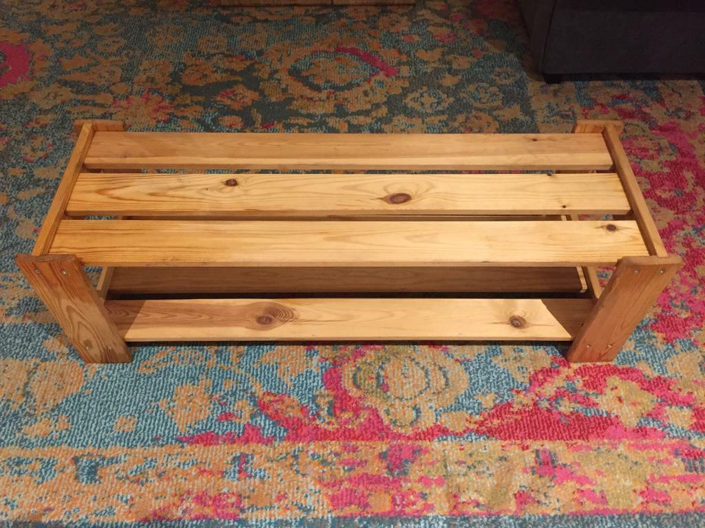 Wooden Shoe Rack In Notting Hill London Gumtree