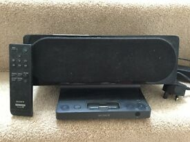 Sony docking station and remote