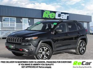 2015 Jeep Cherokee Trailhawk 4X4 | REDUCED | HEATED LEATHER |...