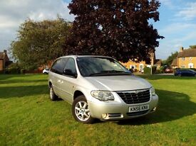 chrysler grand voyager 7 seater 2006 2.8 crd auto stow n go