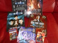 A COLLECTION OF DOCTOR WHO HARDBACK BOOKS