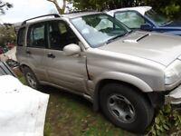 05 vitara diesel chrome abar towbar quad offroad 4x4 4wd jeep sidesteps