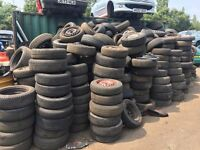 Steel Wheels and tyres FREE for collection over 100 all sizes
