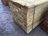 🌎New Pressure Treated Feather Edge Fence Pieces • Panels • Timber
