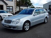 2006 mercedes E-class 220 d elegance only 106000 miles, motd until march 2017