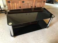 Glass Coffee table/ tv cabinet