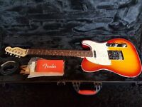 Fender Telecaster American Deluxe With Fender Case