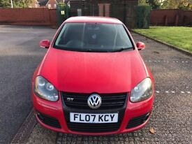 2007 Volkswagen Golf Hatchback 2.0 TDI DPF GT 5dr 170 BHP with full service history