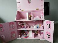 Early learning centre girls dolls house