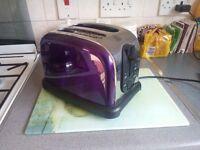Purple toaster