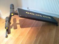 Gold's Gym Ab Bench
