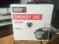 Weber Smokey Joe charcoal grill BBQ new in box