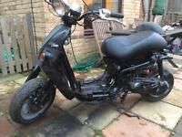 Aprilia habana custom bike 01 (project)