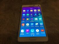 Samsung Galaxy Note 4 - 32 GB - white -unlocked to all network