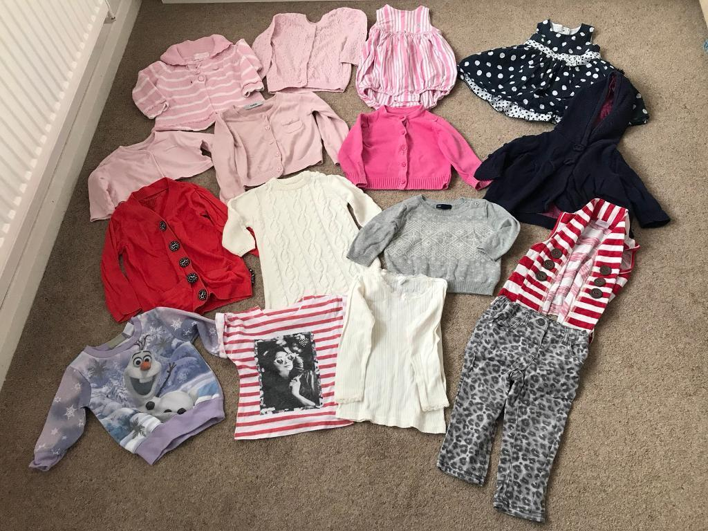 Baby clothes bundle- approx age 3-18 months
