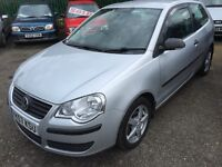 2007 Vw polo 1.2 in excellent condition long mot CARDS ACCEPTED FREE 5 days insurance