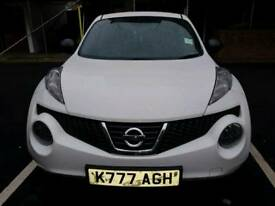 2013 Nissan Juke 1.5 dCi Visia 5dr...1 lady owner...FSH and 1 year MOT