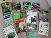 Gardening Books Bundle All in excellent condition.