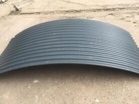 corrugated sheeting for shepherd hut roof x 9