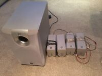 Yamaha SW-P130 speakers sound system for sale
