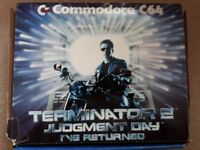 Commodore 64 Terminator 2 Edition with Tape Deck, 2 joysticks and 21 games