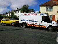 JR RECOVERY SCRAP CARS WANTED --- FAST RECOVERY SERVICE 24-7