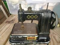 Vulcan miniature collectors sewing machine German £30