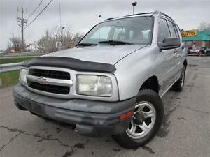 2002 Chevrolet Tracker Hardtop 4X4 MAN. A/C CRUISE DEMARREUR!!!