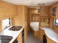 BAILEY PAEGENT 2008 TOURING CARAVAN FIXED BED AND MOTOR MOVER