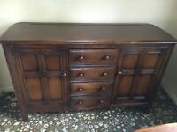 ERCOL VINTAGE COLONIAL STYLE SIDE BOARD EXCELLENT CONDITION