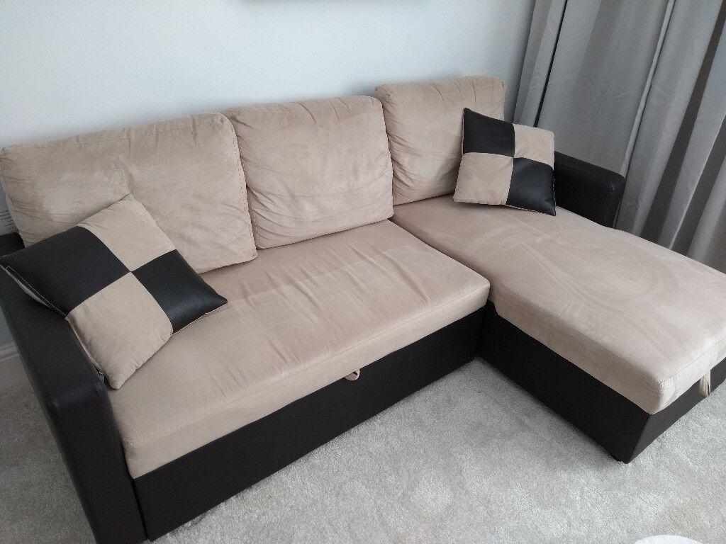 Corner Sofa Bed with Underneath Storage   in Sheffield ...