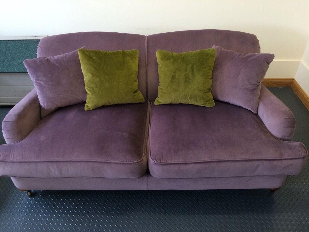 2 Seater Purple Sofa – Hereo Sofa