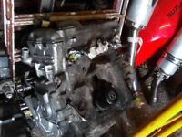Honda CBR 600 F3 ENGINE £250 Steelie Tel 07870 516938