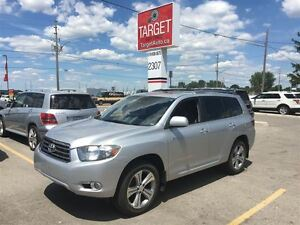 2008 Toyota Highlander Sport, Loaded; Leather and More  !!!!!!