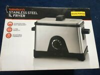 Stainless steel 1l fryer
