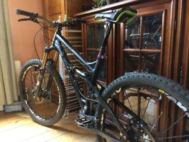 banshee Spitfire Mountain Bike