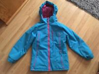 Girls 7-8 trespass coat