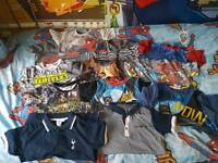 Bundle of boys t shirts