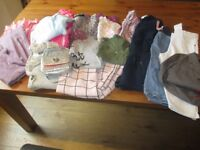 Girl's clothes bundle - 6/7, 7/8 and 8/9 years old - 17 items