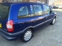 VAUXHALL ZAFIRA 2003** 7 SEATER FULL YEAR MOT GOOD CONDITION