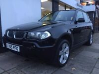 BMW X3 2.0 d Sport 5dr PARTS & LABOUR WARRANTY