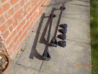 Halfords Exodus Roof Bars & Fitting Kit F006