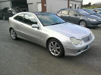 03 Dec Mercedes C180 SE Auto coupe full service history ( can be viewed inside anytime)