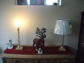 Lamp and Shade - Crystal Style